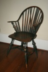 American 18th Century Continuous Arm Windsor Chair