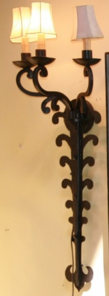 Iron Sconces