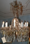 Tiered Crystal Chandelier
