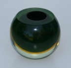 Murano Small Green Bowl