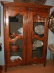 SOLD:  French Two Door Armoire