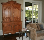 Beautiful French armoire.