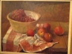 Meredith Brooks Abbott still life oil painting of fruit