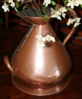 Antique English copper measure