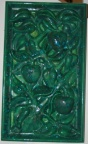 SOLD - Fruit and Vine Ceramic wall decor