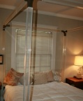 Rare, 60s - 70s, Charles Hollis Jones Four Post King Sized Lucite Bed