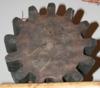 SOLD - Wooden Gear Mold