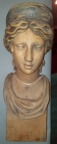 SOLD - Carved wooden bust