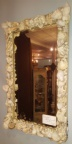 Decorative Shell Framed Mirror