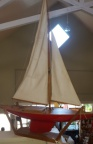 Red Pond Sailboat