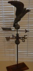 Antique copper Eagle weathervane with directionals