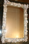 Shell Framed Mirror