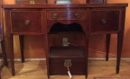 Antique mahogany sideboard with inlay
